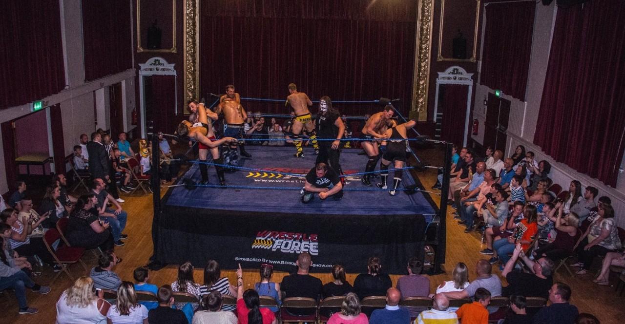 WrestleForce returns to the Witham Public Hall!